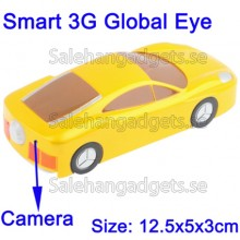 GSM Smart 3G Global Spionkamera (Gul)