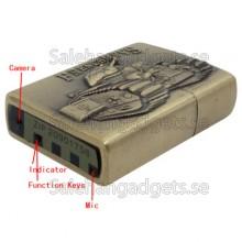 Tändare Med Spionkamera, Fri 4 GB