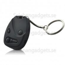 Spionkamera Nyckelring, Bil Fjärrkontroll Style, HD, 8 GB På Köpet