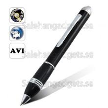Spy Pen Pinhole Videokamera (Rörelseigenkänning, 2GB Micro)