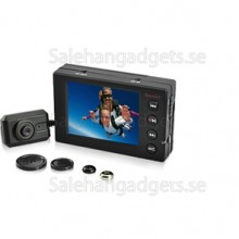 Bärbar Spion DVR, 2,5-Tums LCD, Knapp Kamera