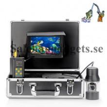 7 Tums Undervatten Fiske Kamera, Metallhölje, 1/3 Sony CCD, Fjärrkontroll, 480 TVL