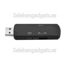 Ljud Aktiverad USB Audio Recorder, 4GB Minne