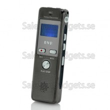 Digital Voice Recorder - Telefon Inspelning, FM-Radio (4 GB)