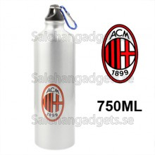 750ML AC Milan Football Club Style Portable Aluminum Sport Vatten Flaska