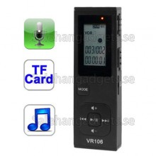 Digital Voice Recorder MP3-Spelare Med 4GB Minne